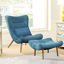 WarmieHomy Modern Fabric Occasional Chair Wing