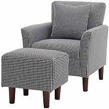 Warmiehomy Modern Occasional Chair Fabric