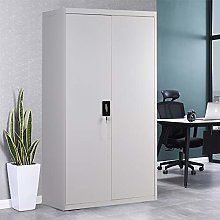 Warmiehomy Storage Cupboard Office File Cabinet