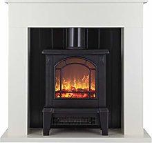 Warmlite WL45037W Ealing Electric Fireplace Suite