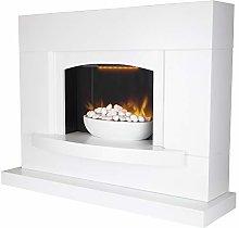 Warmlite WL45046 Oxford Electric Pebble Fireplace