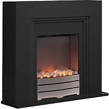 Warmlite York Electric Fireplace Suite with