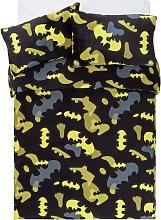 Warner Brothers Batman Fleece Bedding Set - Double