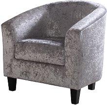 Warner Tub Chair Rosdorf Park Upholstery: Crushed