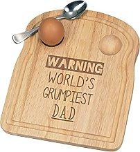 Warning World's Grumpiest Dad Breakfast Dippy