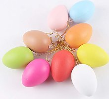 Warooma Hanging Easter Egg, 60 Pcs Diy Small Empty