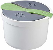 Waroomss Rice Cooker, Microwave Rice Cooker