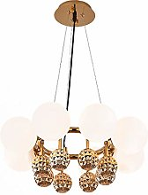 WArriors Modern Minimalist Design Chandelier,Round