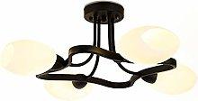 WArriors Nordic Elegant Chandelier,Wrought Iron