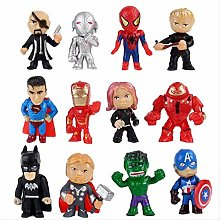 wasd 12pcs/set Q Toys Figures Thor Action Figure