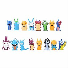 wasd 16pcs/set Movie Cartoon Anime Slugterra PVC