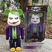 wasd 28cm Anime The Joker Bear Brick Action Figure