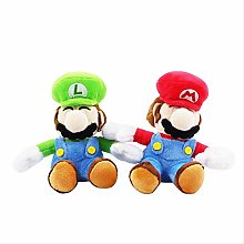 wasd 2pcs 16cm Super Mario Plush Toys With Hook