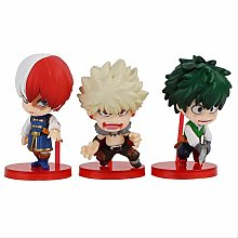 wasd 3pcs Anime Figure My Hero Academia Izuku