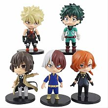 wasd 5pcs/set 11cm My Hero Academia Todoroki Shoto