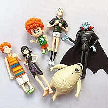 wasd 6pcs/set Hotel Transylvania Action Figure