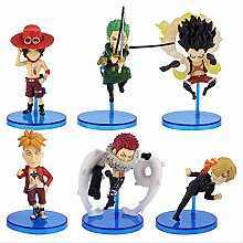 wasd 6pcs/set One World Collectable Figure Whole