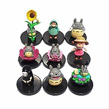 wasd 9pcs/lot My Neighbor No Face Figure Toys Pvc