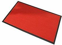 Washable Barrier Door Mat.Heavy Duty Rubber Mat