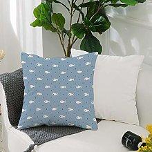 Washable Cushion Covers 20x20 Inch,Nautical