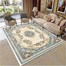 washable kitchen rugs Blue beige carpet living