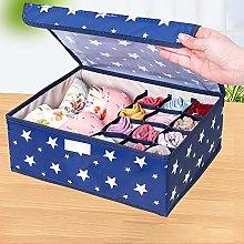 Washable Oxford Fabric Underwear Storage Box