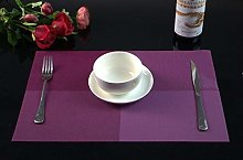 Washable Placemats Sets of 8 Table Mats for