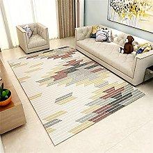 washable rug Gray living room carpet bedroom