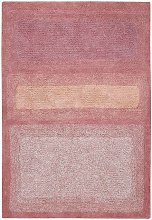 Washable Rug Water Canyon Rose 140 x 200cm