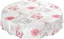 Washable tablecloth, oilcloth/wax tablecloth, with