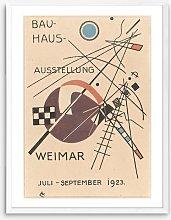 Wassily Kandinsky - 'Bauhaus 1923' Framed