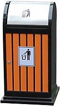 Waste Recycling Outdoor Dustbins Metal Outdoor