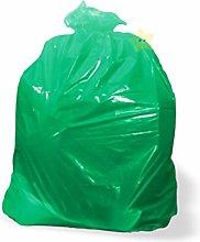 Waste Sacks Green Coloured Strong Rubbish Sacks