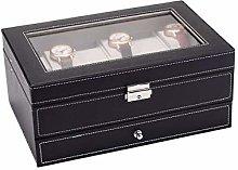 Watch Case, Bracelet Manager Lockable Jewelry