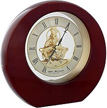 Watching Clocks Contemporary Round Piano Wood