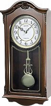 Watching Clocks Deluxe Wooden Pendulum Wall Clock