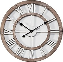 Watching Clocks HOMETIME MDF ROUND CUT-OUT WALL