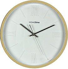 Watching Clocks Modern Deep Dish, White Home time