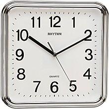 Watching Clocks Rhythm Square Basic Wall Clock