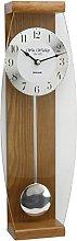 Watching Clocks Traditional Deluxe Oak Pendulum