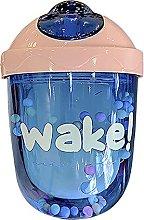 Water Bottle, Cute Colorful Beads Drinking Bottle