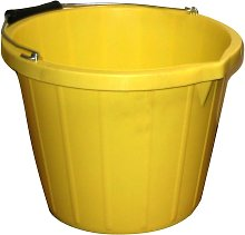 Water Bucket (3 Gallons) (Yellow) - Prostable