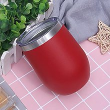 Water Cup Vacuum Eggshell Cup Spray red Wine Glass