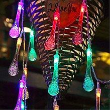Water Drop Indoor String Lights, 3M 30LED Water