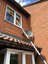 Water Fed Window Cleaning Pole, Hose-Fed Window