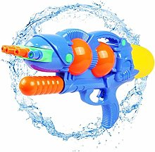 Water Gun Toy for Kids with 5 Nozzles 3M Long
