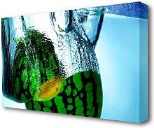Water Melon Kitchen Canvas Print Wall Art East