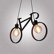 Water Pipe Bicycle Pendant Chandelier,Decoration