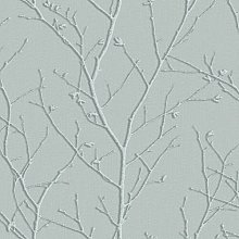 Water Silk Sprig 10m x 52cm Matte Wallpaper Roll