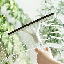 Water spray wiper glass cleaner with watering can